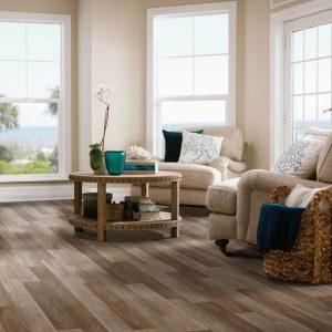 Living room Luxury vinyl tile | Terry's Floor Fashions