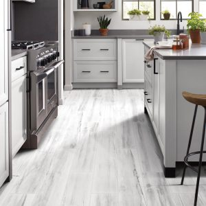White Luxury Vinyl Tile | Terry's Floor Fashions