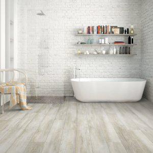 Bathroom Hardwood FLooring | Terry's Floor Fashions
