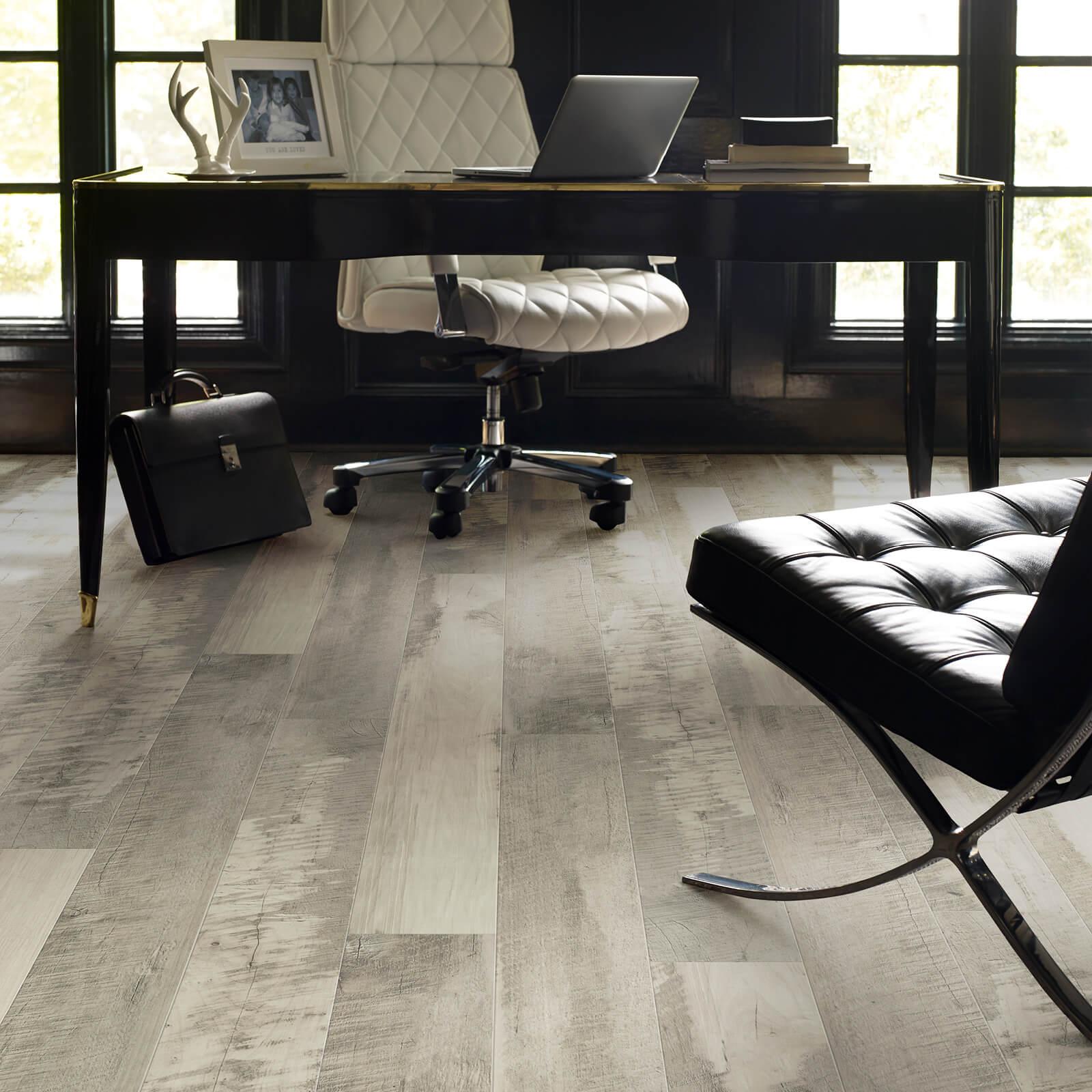 Office Hardwood Floor | Terry's Floor Fashions