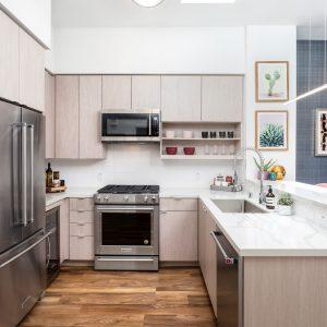 Luxury Vinyl Flooring of Kitchen Room | Terry's Floor Fashions