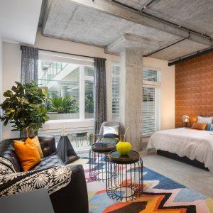 Luxury Vinyl Flooring of Bedroom | Christian Brothers Flooring & Interiors.